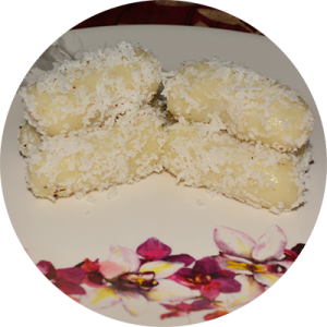 Ghee And Milk Rice Cake